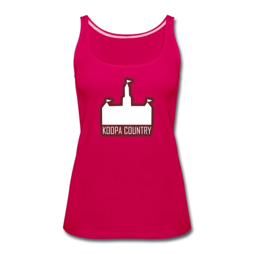 Koopa Country - Women's Premium Tank Top