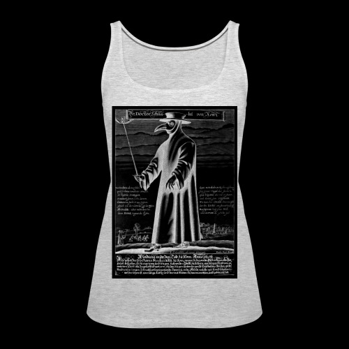 Plague Doctor - Women's Premium Tank Top