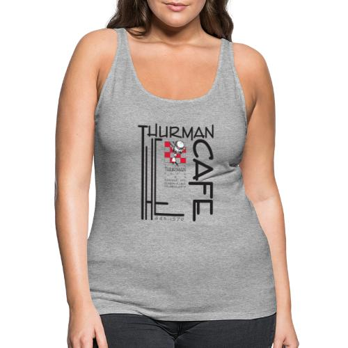 Thurman Cafe Traditional Logo - Women's Premium Tank Top