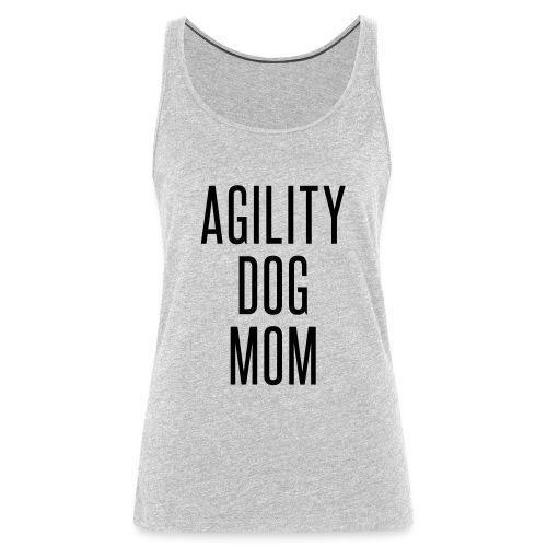 AgilityDogMom - Women's Premium Tank Top
