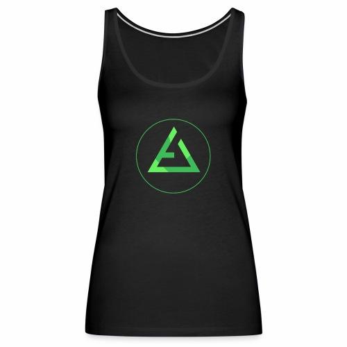 crypto logo branding - Women's Premium Tank Top