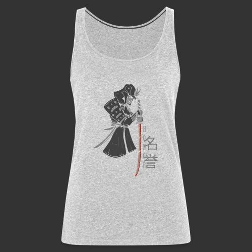 Samurai (Digital Print) - Women's Premium Tank Top