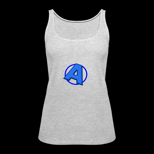 Awesomegamer Logo - Women's Premium Tank Top