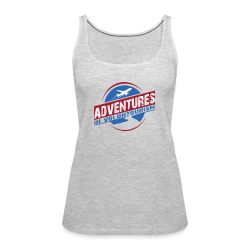 Adventures In Voluntourism - Women's Premium Tank Top