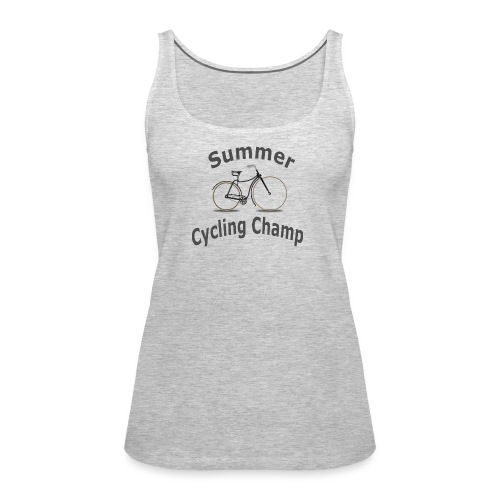 Summer Cycling Champ - Women's Premium Tank Top