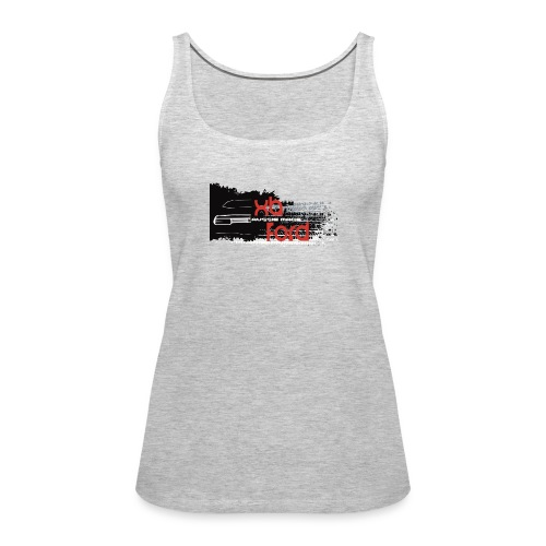 XB Coupe skid - Women's Premium Tank Top