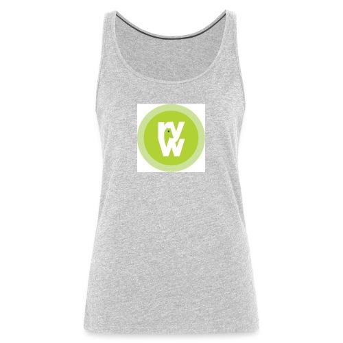 Recover Your Warrior Merch! Walk the talk! - Women's Premium Tank Top