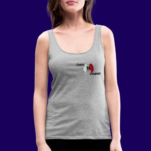 ChaosNConquer Design Logo - Women's Premium Tank Top