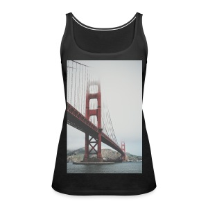 Golden Gate Bridge - Women's Premium Tank Top