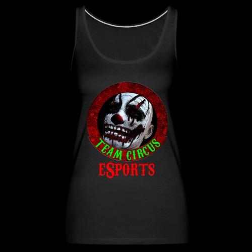 Team Circus eSports Logo - Women's Premium Tank Top