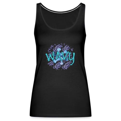 Wavy Patterns - Women's Premium Tank Top