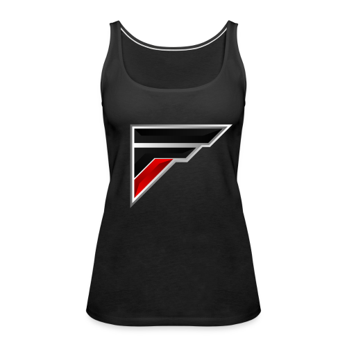 Flash Logo - Women's Premium Tank Top