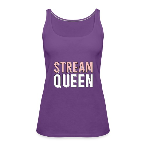 Do you live to livestream? - Women's Premium Tank Top