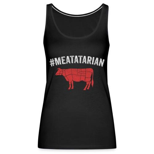 Meatatarian Print - Women's Premium Tank Top