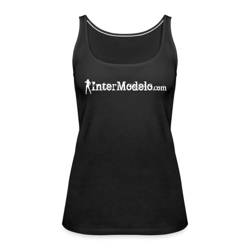 Intermodelo White - Women's Premium Tank Top