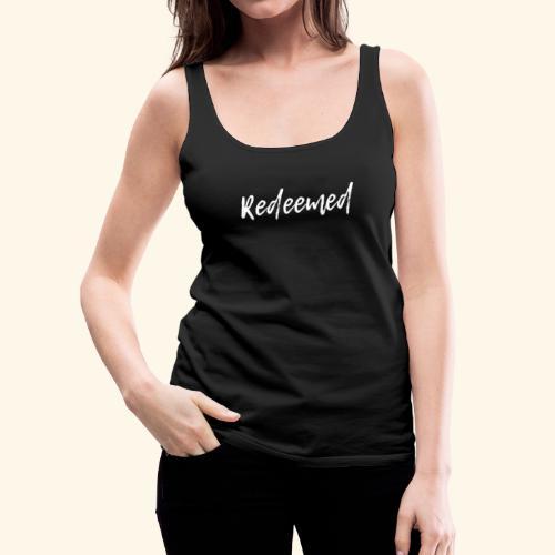 Redeemed - Women's Premium Tank Top