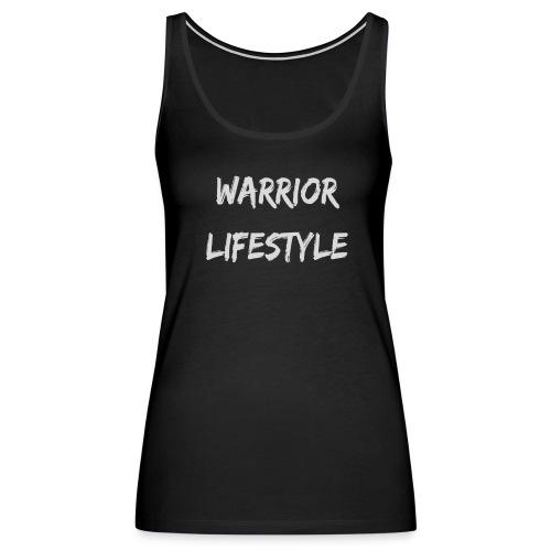 Warrior Lifestyle- Paint - Women's Premium Tank Top