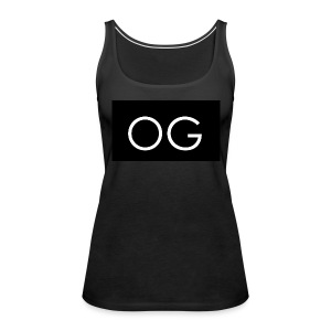 OG design black - Women's Premium Tank Top