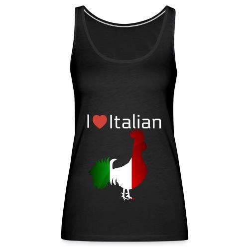 Italian Rooster - Women's Premium Tank Top