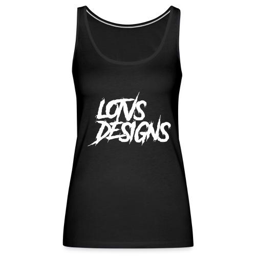 LOTVS DESIGNS - White - Women's Premium Tank Top