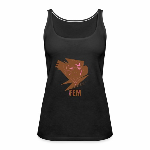 Illatrius FEM Black 1 - Women's Premium Tank Top
