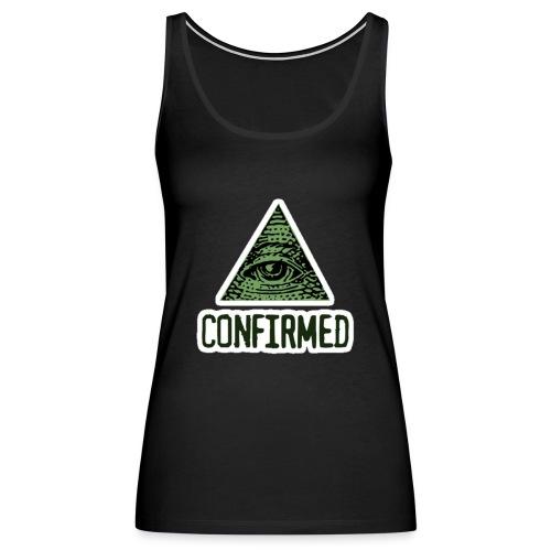 Illuminati Confiremed - Women's Premium Tank Top