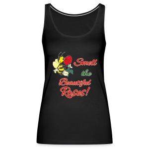 Beautiful Scented Roses - Women's Premium Tank Top