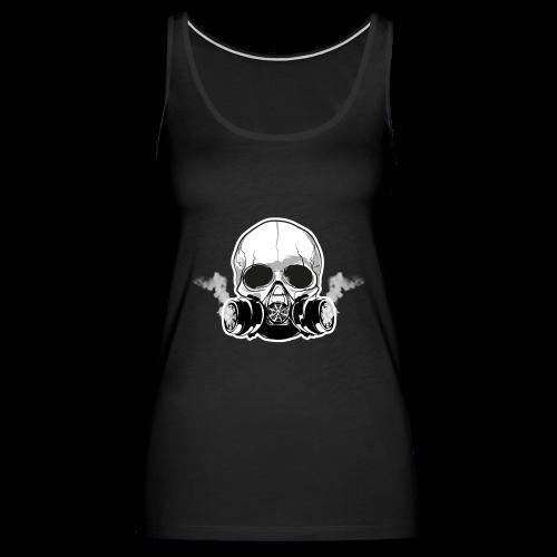 WarBoy Smokin' Skull - Women's Premium Tank Top