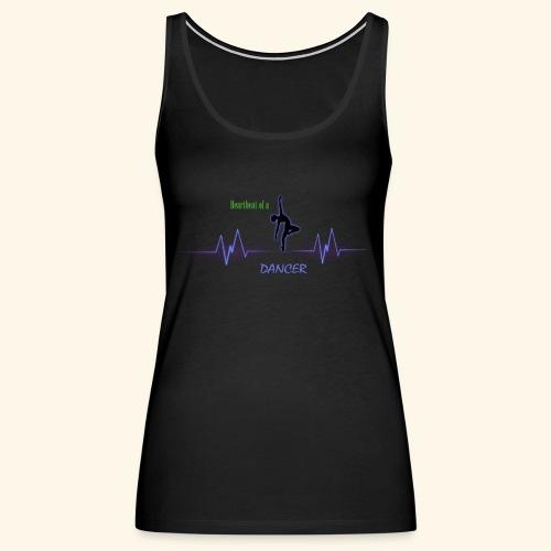 heartbeatdancer1 - Women's Premium Tank Top