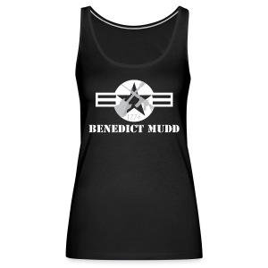 Black Benedict Mudd Logo - Women's Premium Tank Top