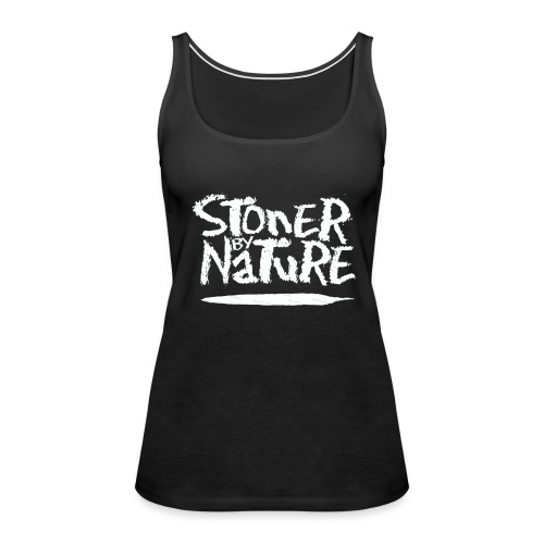 Stoner By Nature Joint white - Women's Premium Tank Top