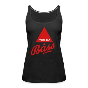 Drum and Bass - Women's Premium Tank Top