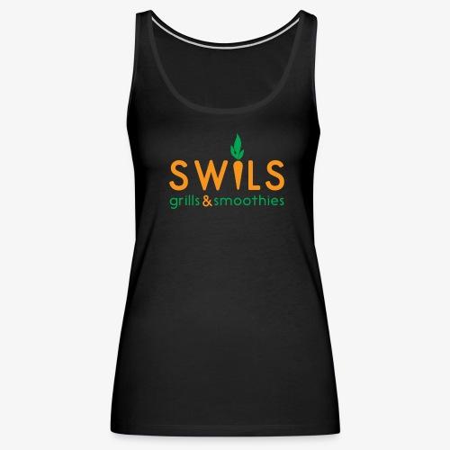 Swils logo 02 - Women's Premium Tank Top