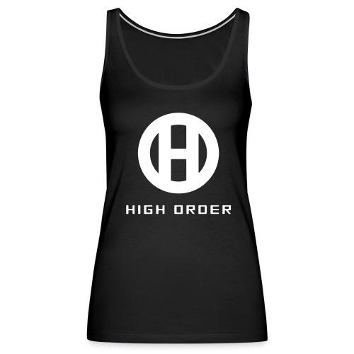 HIGH ORDER CLASSIC WHITE - Women's Premium Tank Top