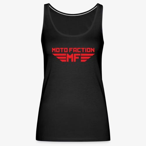 MotoFaction Logo - Women's Premium Tank Top