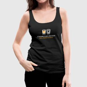 A Bartender Is Just A Pharmacist With A Limited In - Women's Premium Tank Top