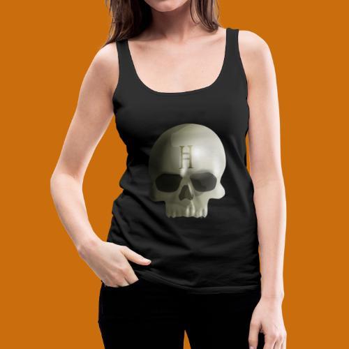 Hell Skull - Women's Premium Tank Top