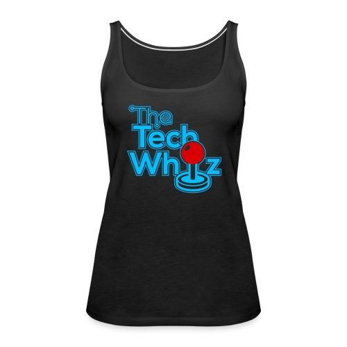 TheTechWhiz Stacked Logo - Women's Premium Tank Top