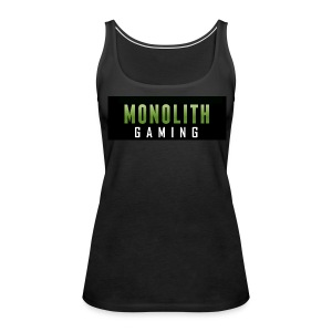 Monolith Gaming Logo - Women's Premium Tank Top