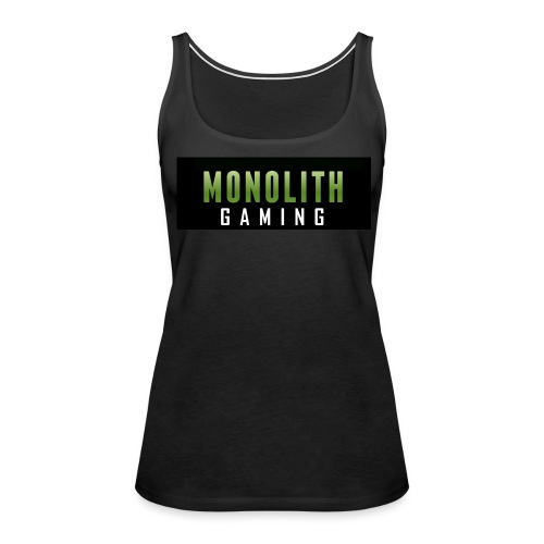 Monolith Gaming Logo - Women's Premium Tank Top