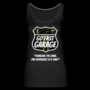 Go Fast Garage - Women's Premium Tank Top