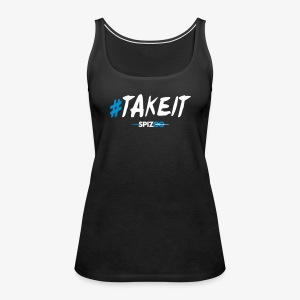 #takeit black - Spizoo Hashtags - Women's Premium Tank Top