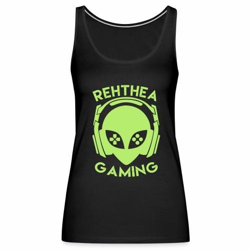 Alien Head Rehthea Gaming - Women's Premium Tank Top