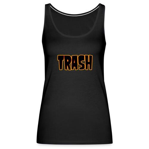 TRASH - Women's Premium Tank Top