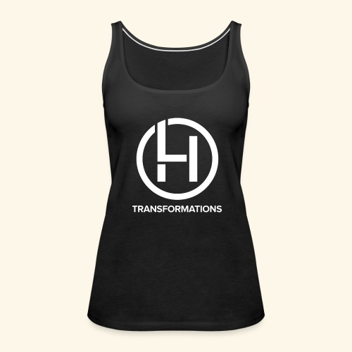All Black Line - Women's Premium Tank Top