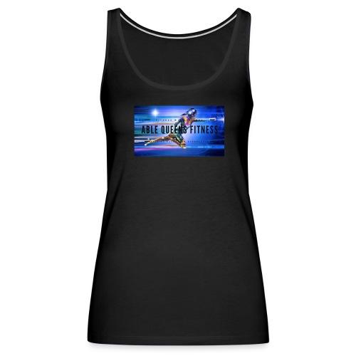 Able Queens Fitness Logo - Women's Premium Tank Top