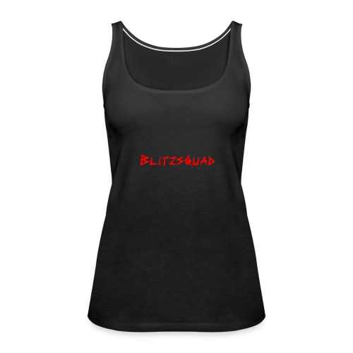 Blitzsquad Woman Wednsday - Women's Premium Tank Top
