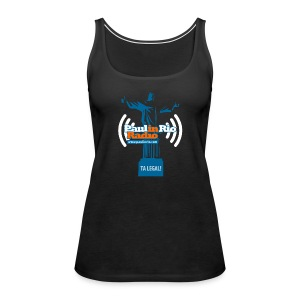 Paul in Rio Radio - The Thumbs up Corcovado #2 - Women's Premium Tank Top