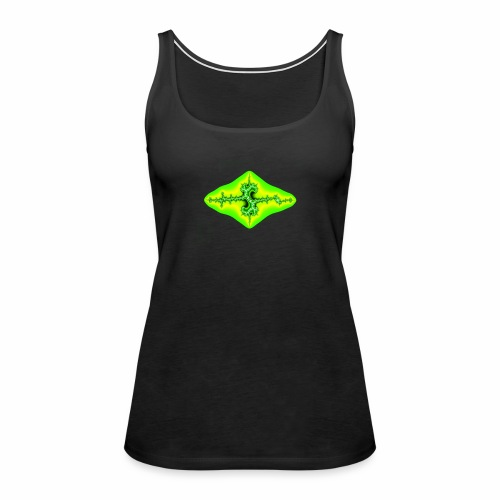 green fractal - Women's Premium Tank Top