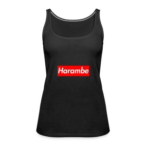 Harambe x Supreme Box Logo - Women's Premium Tank Top